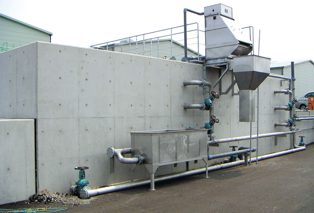 排水処理設備(活性汚泥方式)処理能力 50㎥/日