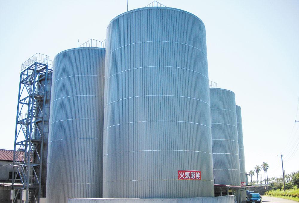 屋外貯蔵タンク(ステンレス製)600kL
